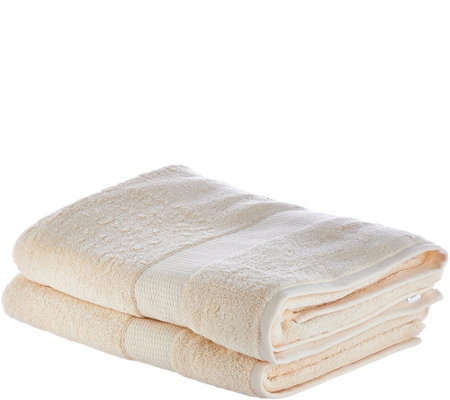 Northern Nights Set of 2 35x68 100% Cotton Bath Sheets