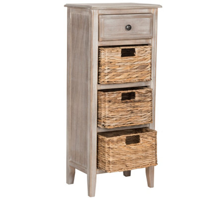 Safavieh Michaela Side Table with Drawer Storage