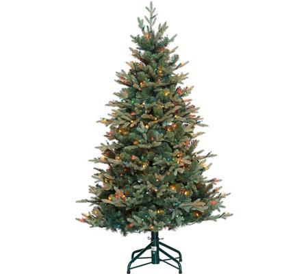 as is bethlehem lights 5 blue spruce christmas tree - White Spruce Christmas Tree