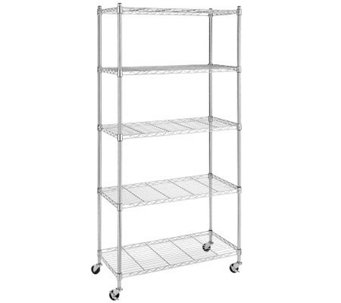 Whitmor Supreme Five-Tier Cart - H280741