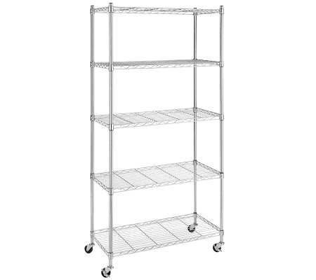 Whitmor Supreme Five-Tier Cart