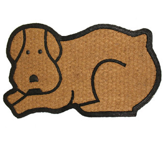 Geo Crafts Flat Weave Tuffcor Dog Door Mat - H283841