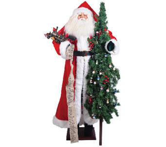 "60"" Santa with Train by Santa's Workshop - H287341"