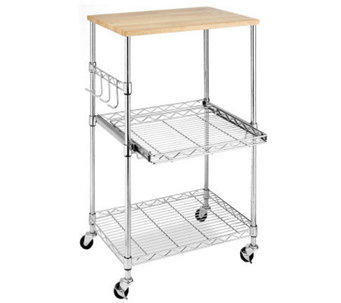 Whitmor Supreme Microwave Cart - H367741