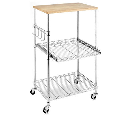 Whitmor Supreme Microwave Cart