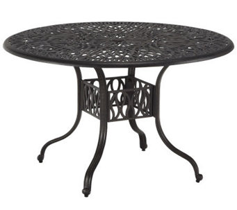 "Home Styles Floral Blossom 42"" Round Dining Table - H367841"