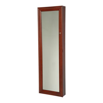 Gold & Silver Safekeeper Lighted Wall Armoire by Lori Greiner