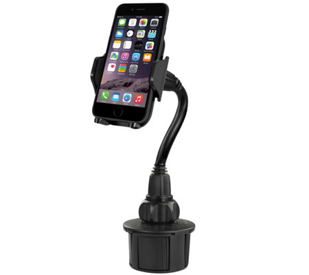 "4"" Adjustable Automobile Cup Holder Mount for Smartphones"