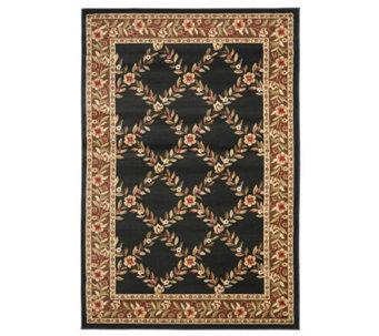 "Lyndhurst Open Floral Power Loomed 3'3"" x 5'3""Rug - H356842"