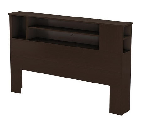 South Shore Vito Full/Queen Bookcase Headboard
