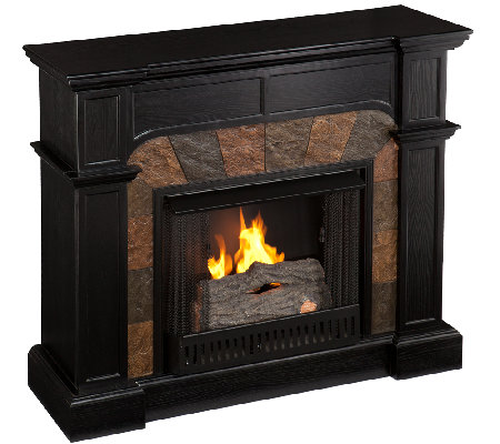 Quincy Freestanding Ventless Corner Wall Gel Fuel Fireplace Page 1