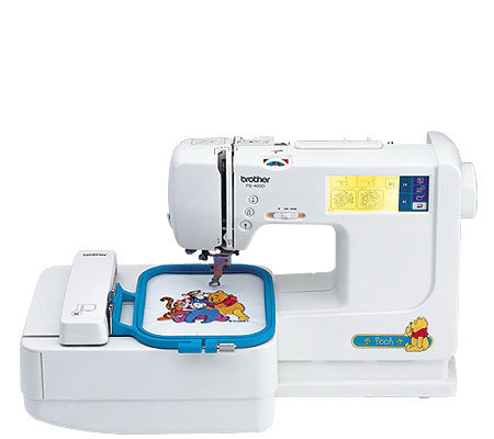 pe 400d embroidery machine