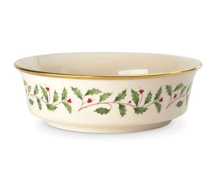 "Lenox Holiday Serving 9-1/4"" Bowl"