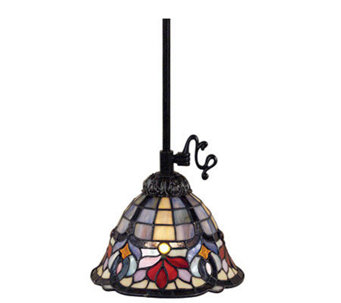 Tiffany Style Piccolo Pendant   H139443Tiffany Style Lamps   Indoor Lighting   For the Home   QVC com. Tiffany Style Lamps Qvc Uk. Home Design Ideas