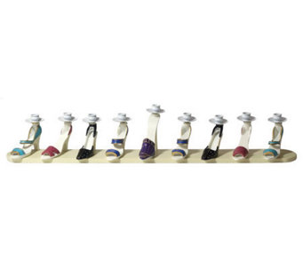 Copa Judaica High Heel Shoes Menorah - H144843