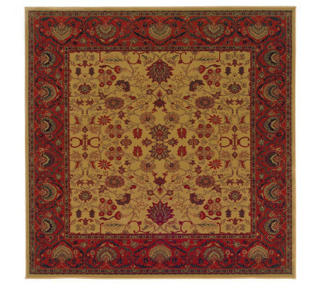 "Couristan 7'10"" Square Everest ""Tabriz"" Rug"