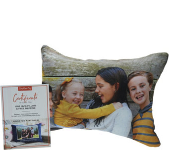 "Shutterfly Personalized 12""x16"" Photo Indoor Pillow - H212643"