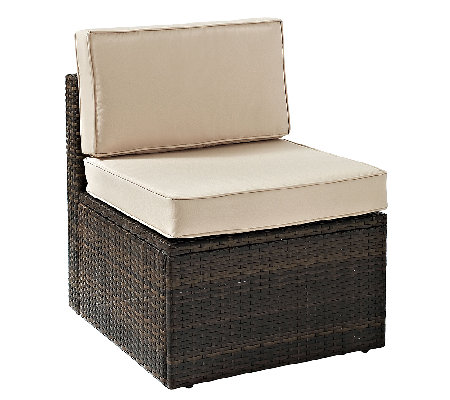 Crosley Palm Harbor Outdoor Wicker Center Chair