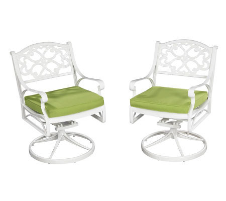 Home Styles Biscayne Outdoor Swivel Chair  w/ Cushion