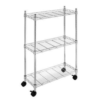 Whitmor Supreme 3-Tier Laundry Cart