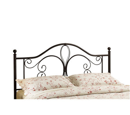 Hillsdale House Milwaukee F/Q Headboard - Antiqued Brown Fin