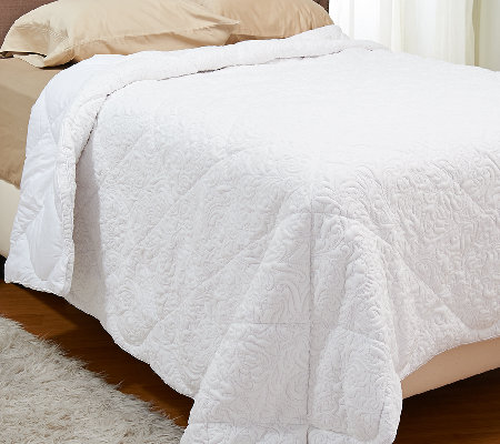 Florentine Quilted King Down Alternative Comforter