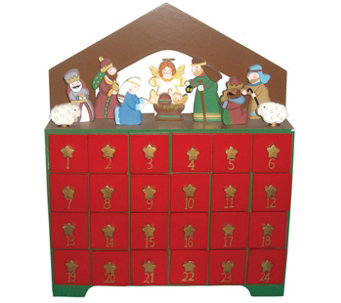 Nativity Advent Calendar by Santa's Workshop - H289544