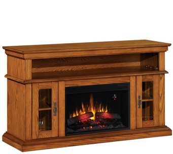 Bell'O Brookfield TV Stand Infrared Electric Fireplace Heater - H290444