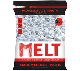Snow Joe MELT 25-lb Professional Strength Calcium Chloride - H290544