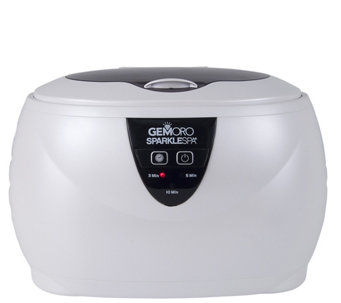 GemOro Sparkle Spa Ultrasonic Jewelry Cleaner - H290644