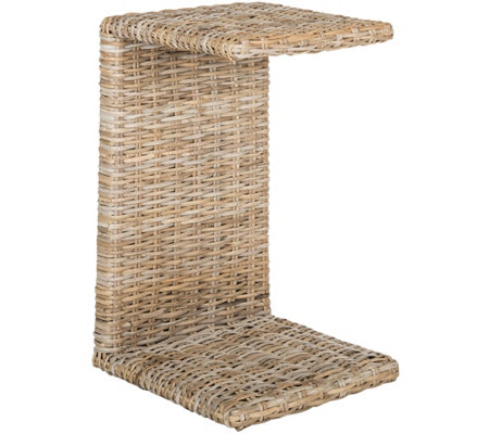 Cai Wicker Accent Table by Valerie