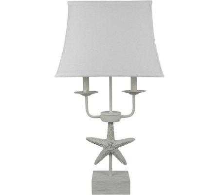 "Sea Star 26"" Table Lamp by Valerie"