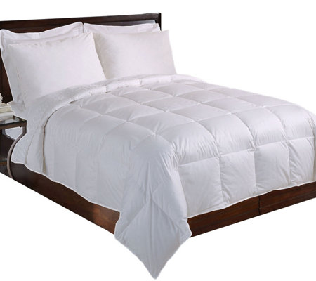 Blue Ridge Cotton Twill 233TC Down AlternativeKing Comforter