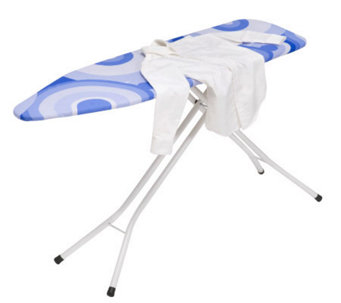 Honey-Can-Do Four-Leg Deluxe Steel Ironing Board - H356444