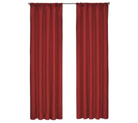 "Eclipse 42"" x 84"" Kids Kendall Blackout WindowCurtain Panel"