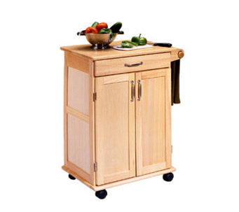 Home Styles Wood Kitchen Cart - H118845