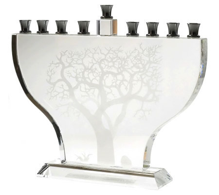 Copa Judaica Tree of Life Menorah