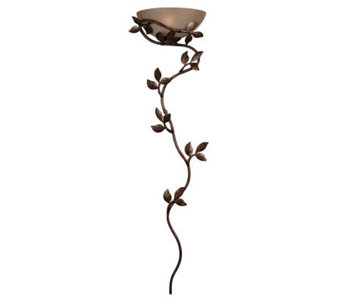 Kenroy Home Flower Vine Wallchiere Plug-In or Hardwired Sconce - H154145
