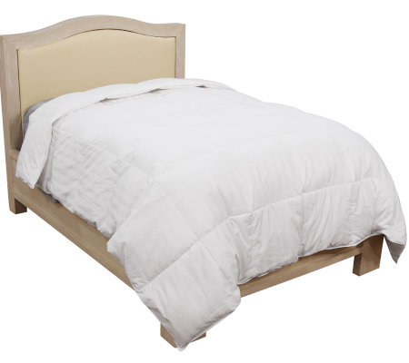 queen nights product fp com down comforter northern qvc plaid kingsford