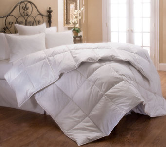 Stearns & Foster 400 TC Pima Cotton Sateen Queen Comforter - H287345