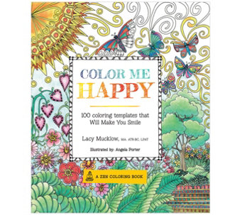 Color Me Happy Adult Coloring Book - H288145