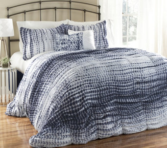 Pebble Creek King Duvet Cover & Shams Set by Lush Decor - H288545