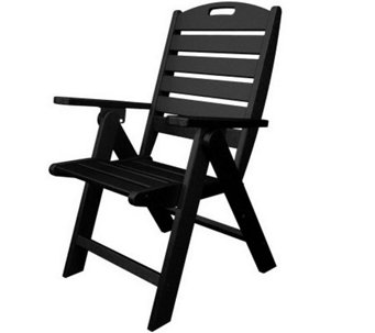POLYWOOD Nautical High Back Dining Chair - H349845