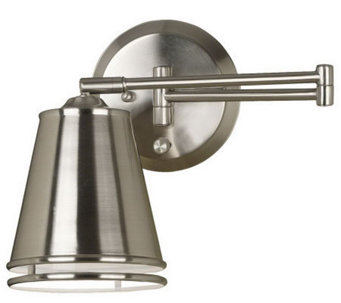 Kenroy Home Metro Wall Swing Arm Lamp - H359145