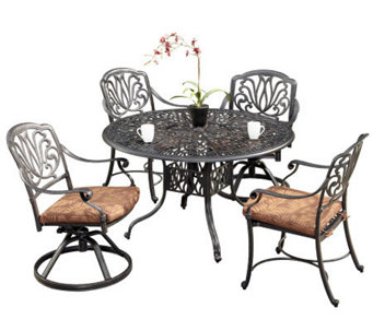 Home Styles Floral Blossom 5-Piece Dining Set with Chairs - H367845