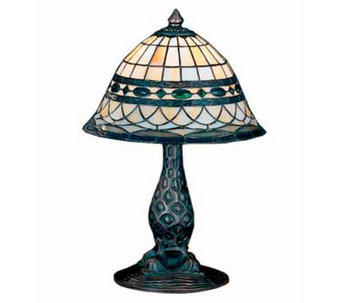 Tiffany Style Roman Accent Lamp - H112346
