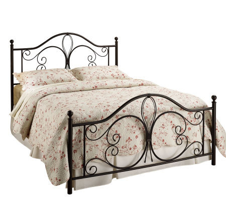Hillsdale House Milwaukee Queen Bed - AntiquedBrown Finish