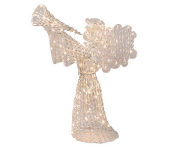 "48"" Opalescence 3-D Twinkling Light Angel By Brite Star - H169546"