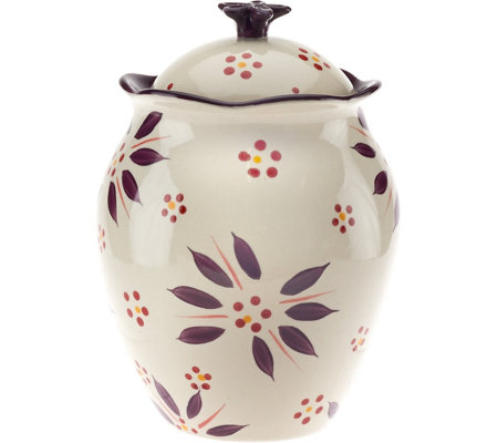 "Temp-tations Old World 9"" Cookie Jar"