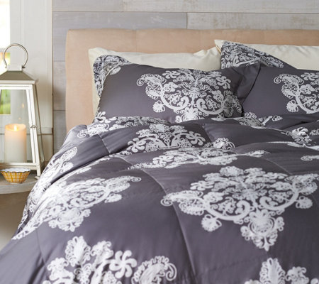 Casa Zeta-Jones Antique Lace KG 400TC Cotton 550 Fill Power Down Comforter